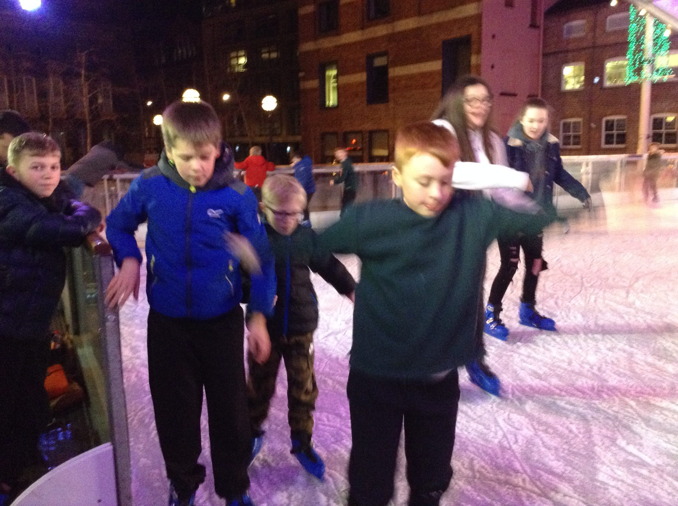Scouts Ice skating 2019